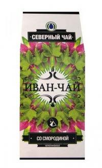 """Чайный напиток """"Северный чай"""" Иван-чай ферментир. со смородиной, пирамидка, 30 г"""