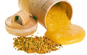 Натуральный мёд с пыльцой