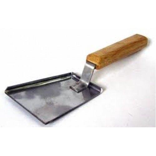 Лопатка скребок с бортиком оцинков