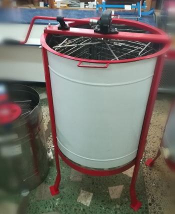Медогонка 4-храмочная нерж. с оборотными кассетами