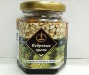 Кедровый орех в сиропе из сосновой шишки