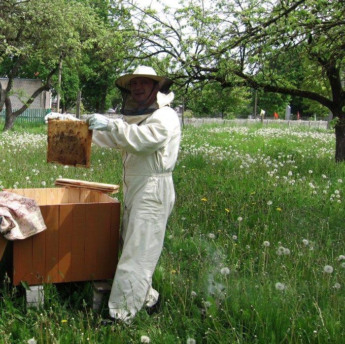 Комбинезон пчеловода на молнии х/б
